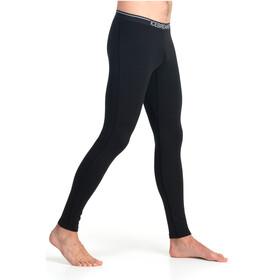 Icebreaker Oasis merino ondergoed leggings zwart